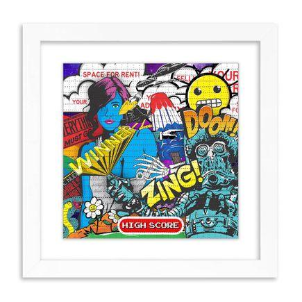 Denial Art Print - High Score - Blotter Edition