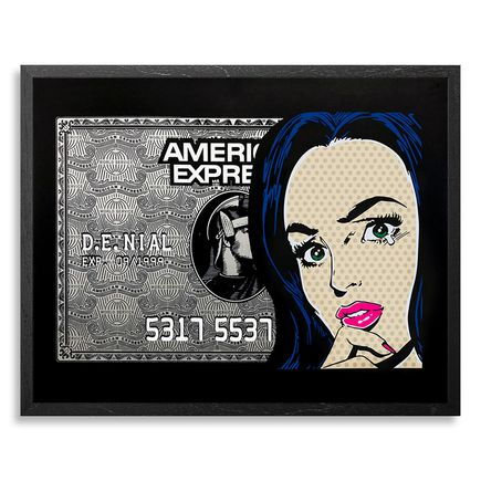 Denial Art Print - In The Black - Print<br>
