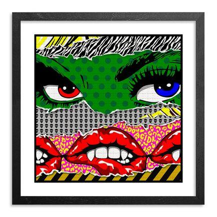 Denial Art Print - LSD Face