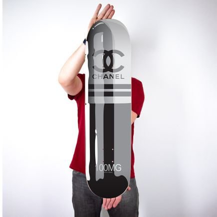 Denial Art Print - Chanel II - Skate Deck Variant