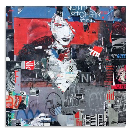 Derek Gores Original Art - Nothing Stops Red Everything