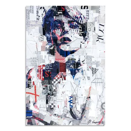 Derek Gores Original Art - Optical Verve