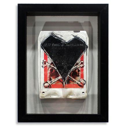 Derek Hess Original Art - Heart - Dreamboat Annie