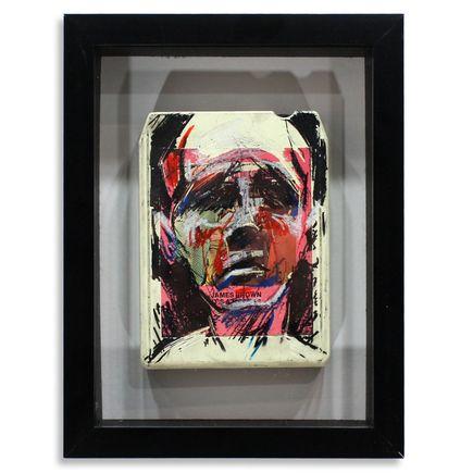 Derek Hess Original Art - James Brown - It's a Mother