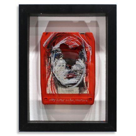 Derek Hess Original Art - Jethro Tull - Thick As a Brick