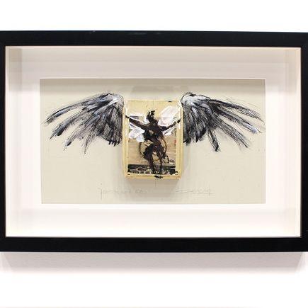 Derek Hess Original Art - Candy's Gone Bad - Golden Earring - Moontan