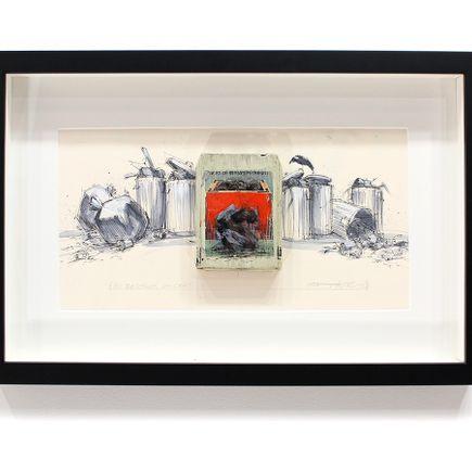 Derek Hess Original Art - All Reactions Are Sane - Bachman Turner Overdrive - Not Fragile
