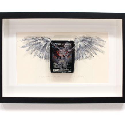 Derek Hess Original Art - I Wish I Had An Angel VIII - Starz - Coliseum Rock