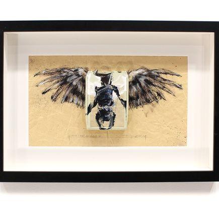 Derek Hess Original Art - I Wish I Had An Angel IV - The Who Live at Leeds