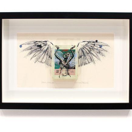 Derek Hess Original Art - Real Cardiac - Queen - News of the World