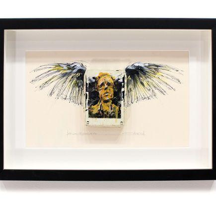 Derek Hess Original Art - She Said She Loved Me Too - Kiss - Love Gun