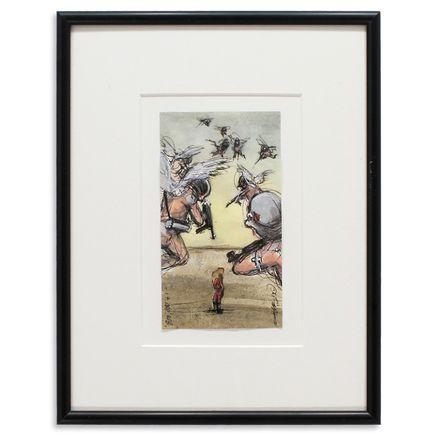 Derek Hess Original Art - 800,000 + 1