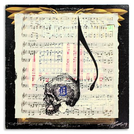 Derek Hess Original Art - Detroit Suicide Note 10