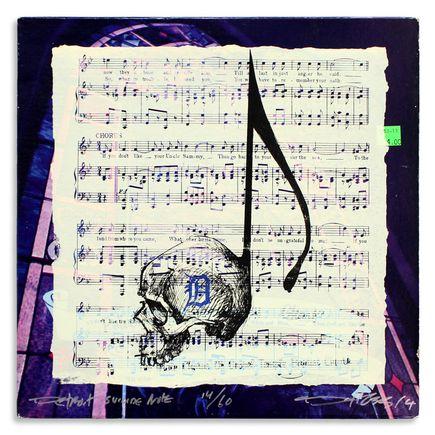 Derek Hess Original Art - Detroit Suicide Note 14