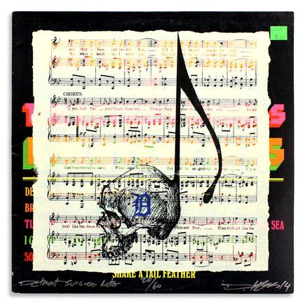 Derek Hess Original Art - Detroit Suicide Note 20