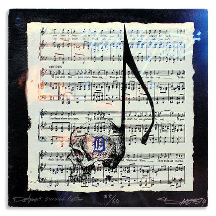 Derek Hess Original Art - Detroit Suicide Note 22