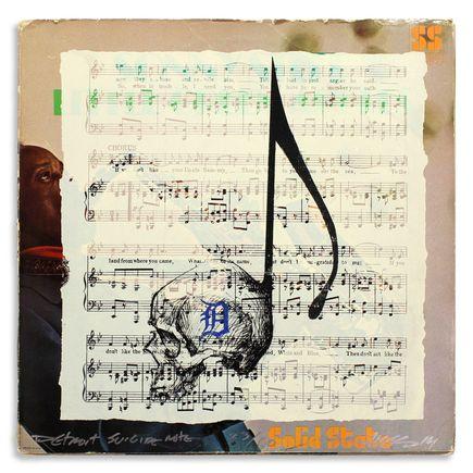 Derek Hess Original Art - Detroit Suicide Note 23