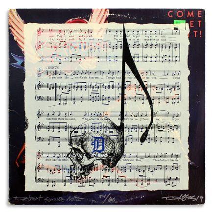 Derek Hess Original Art - Detroit Suicide Note 24