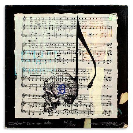 Derek Hess Original Art - Detroit Suicide Note 26