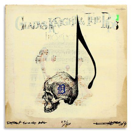 Derek Hess Original Art - Detroit Suicide Note 27