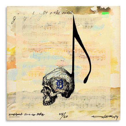 Derek Hess Original Art - Detroit Suicide Note 28