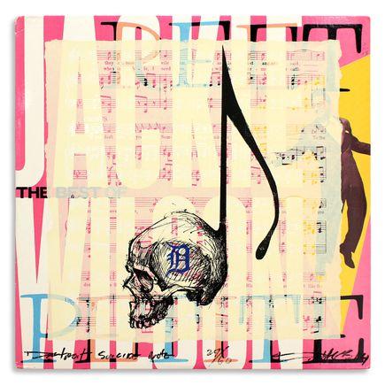 Derek Hess Original Art - Detroit Suicide Note 29