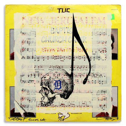 Derek Hess Original Art - Detroit Suicide Note 3