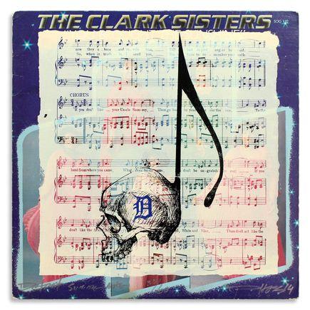 Derek Hess Original Art - Detroit Suicide Note 30