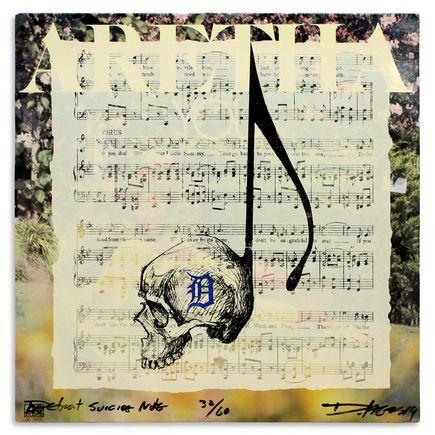 Derek Hess Original Art - Detroit Suicide Note 32