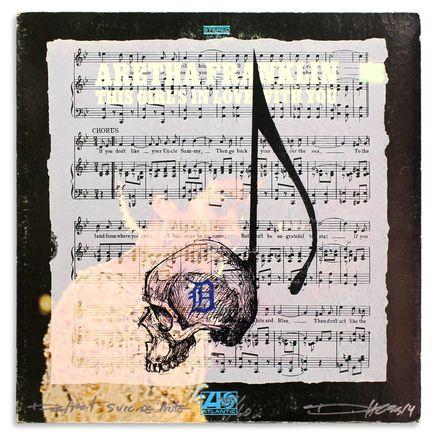 Derek Hess Original Art - Detroit Suicide Note 35