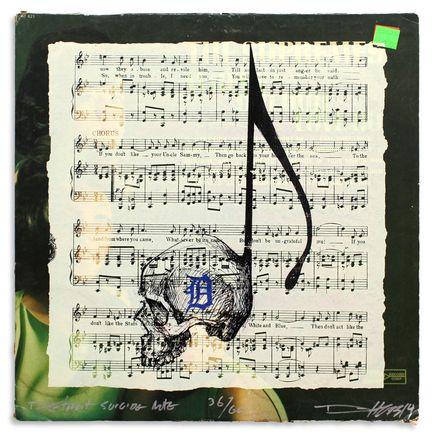 Derek Hess Original Art - Detroit Suicide Note 36