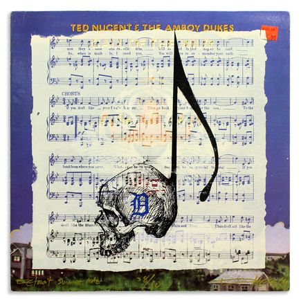 Derek Hess Original Art - Detroit Suicide Note 38
