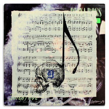 Derek Hess Original Art - Detroit Suicide Note 40