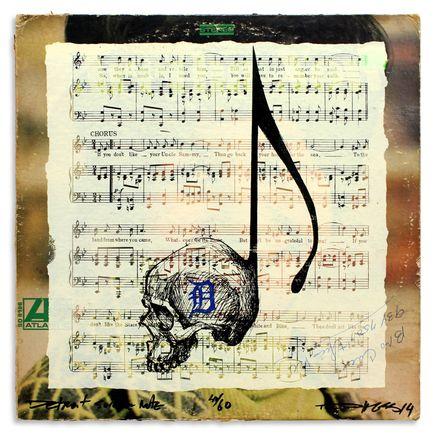 Derek Hess Original Art - Detroit Suicide Note 41