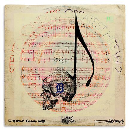 Derek Hess Original Art - Detroit Suicide Note 42