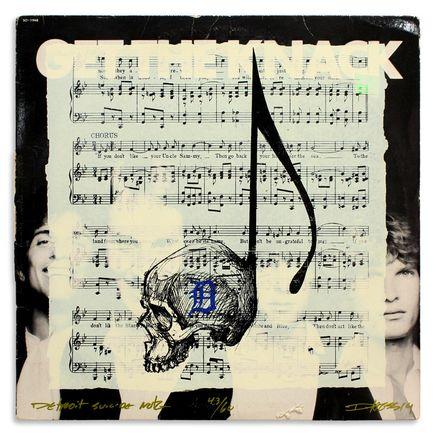 Derek Hess Original Art - Detroit Suicide Note 43