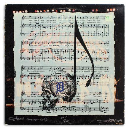 Derek Hess Original Art - Detroit Suicide Note 45