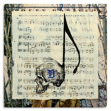 Derek Hess Original Art - Detroit Suicide Note 46