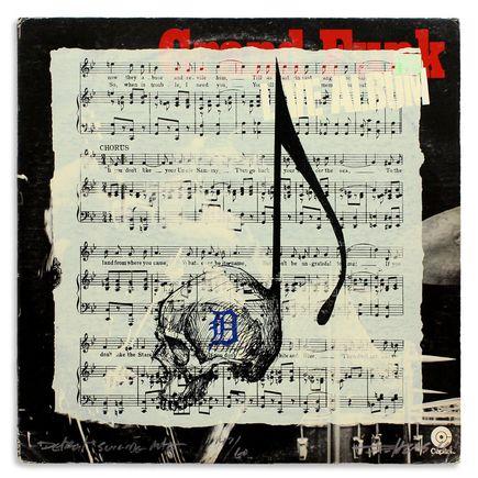 Derek Hess Original Art - Detroit Suicide Note 47