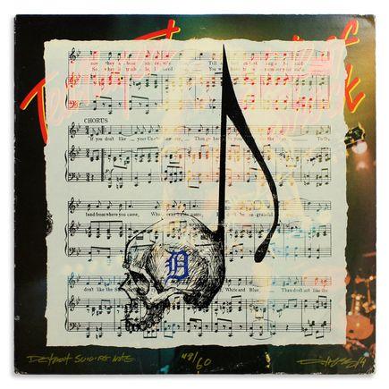 Derek Hess Original Art - Detroit Suicide Note 48