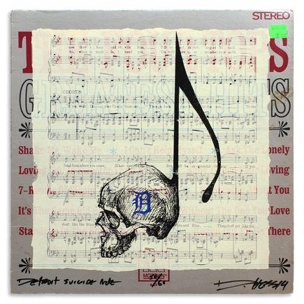 Derek Hess Original Art - Detroit Suicide Note 50