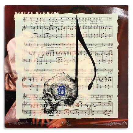 Derek Hess Original Art - Detroit Suicide Note 52