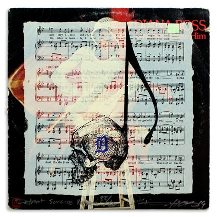 Derek Hess Original Art - Detroit Suicide Note 56