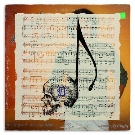 Derek Hess Original Art - Detroit Suicide Note 57