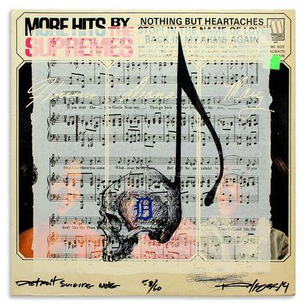 Derek Hess Original Art - Detroit Suicide Note 58