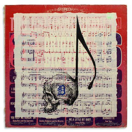 Derek Hess Original Art - Detroit Suicide Note 59