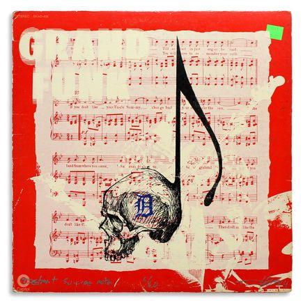Derek Hess Original Art - Detroit Suicide Note 6
