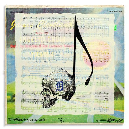 Derek Hess Original Art - Detroit Suicide Note 7