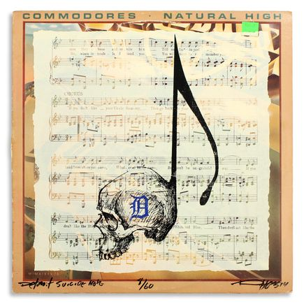Derek Hess Original Art - Detroit Suicide Note 8