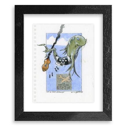 Derek Hess Original Art - Dr. 26 Seuss Marauder - Original Artwork